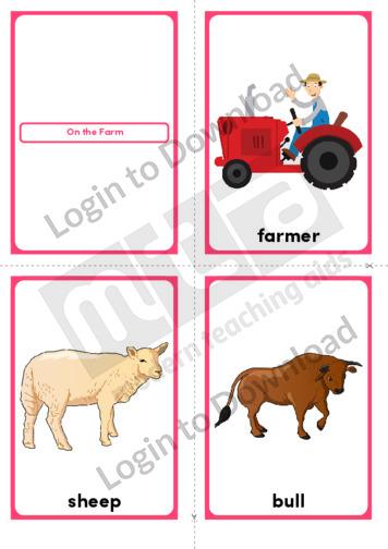 On the Farm (Portrait 4/page)