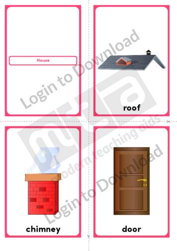 House (Portrait 4/page)