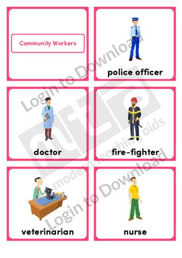 Community Workers (Portrait 6/page)