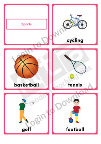 Sports (Portrait 6/page)
