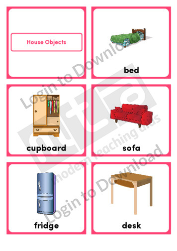 House Objects (Portrait 6/page)