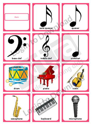 Music (Portrait 12/page)