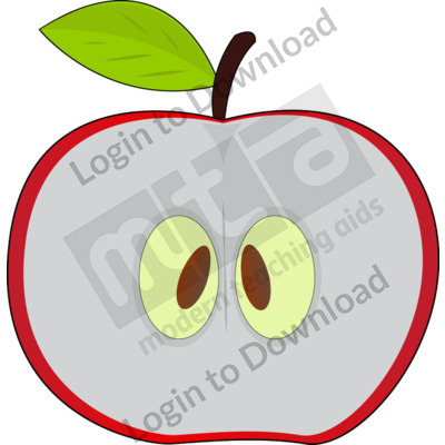 Apple Seed Clip Art