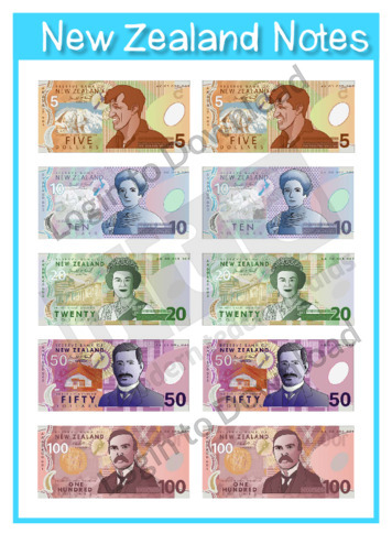 New Zealand Notes