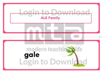 ALE Family (Landscape 2/page)
