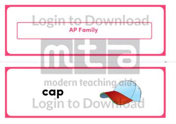 AP Family (Landscape 2/page)