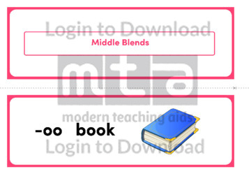 Middle Blends (Landscape 2/page)