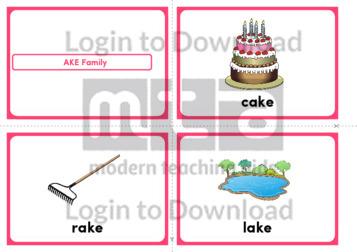 AKE Family (Landscape 4/page)