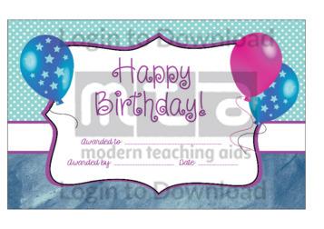 Happy Birthday! 4