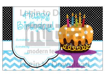 Happy Birthday! 6