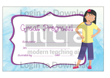 Great Progress! (Girl)