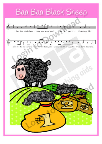 Baa Baa Black Sheep (sing-along)