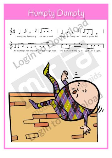 Humpty Dumpty (sing-along)