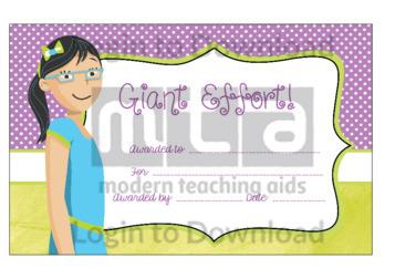 Giant Effort! (Girl)