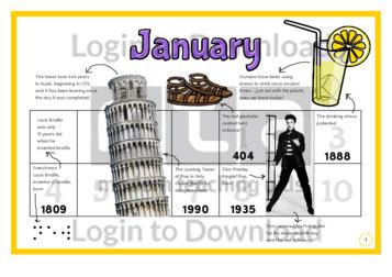 History at a Glance: January