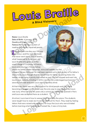 a history of louis braille and the braille system of writing and printing Early braille: the slate and stylus  for more about the history of louis braille and the early development of braille as a writing system,.