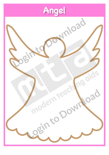 Christmas Angel Template