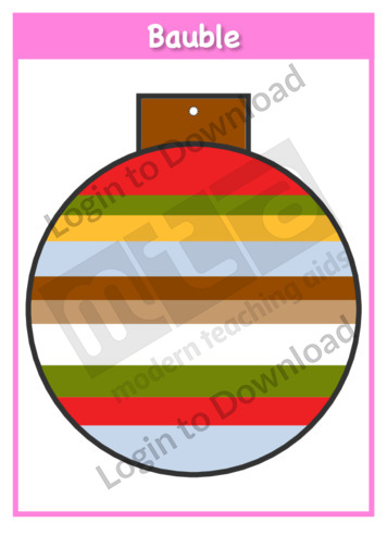 Christmas Baubles: Stripes