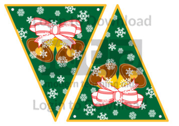 Christmas Bunting: Bells