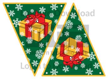 Christmas Bunting: Presents