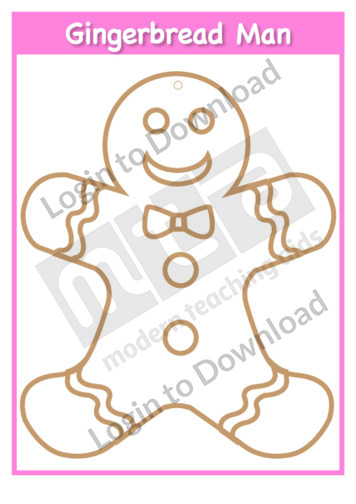 Gingerbread Man Template