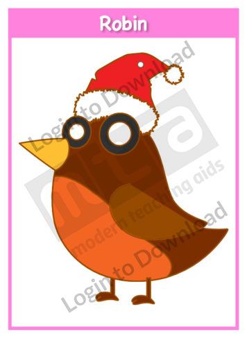 112623E01_ChristmasRobinTemplate02