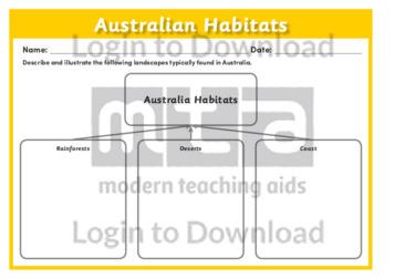 Australian Habitats 1