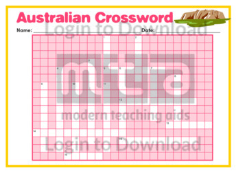 Australian Crossword