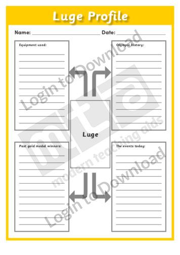 Luge Profile