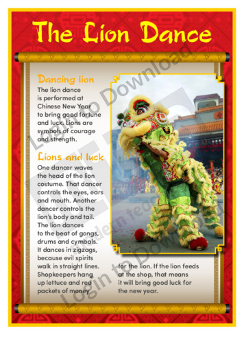 The Lion Dance