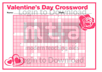 Valentine's Day Crossword