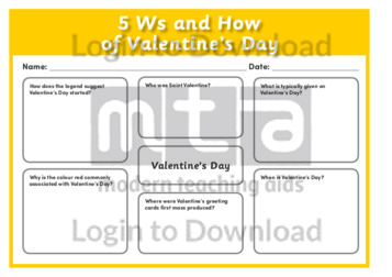 5Ws and How of Valentine's Day