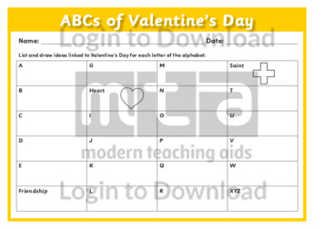 ABCs of Valentine's Day