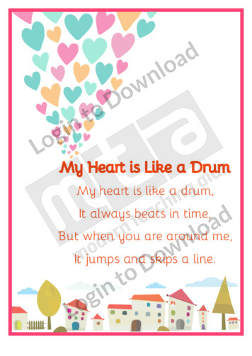 Valentine's Poem: My Heart is Like a Drum