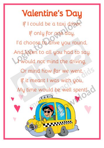Valentine's Poem: Valentine's Day