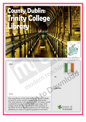 County Dublin: Trinity College Library