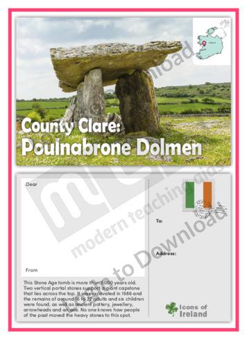 County Clare: Poulnabrone Dolmen
