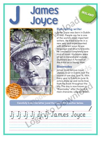 J: James Joyce