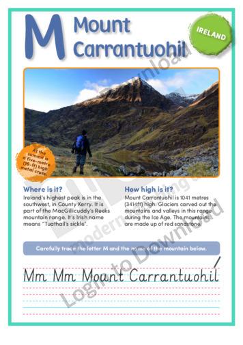 M: Mount Carrantuohil