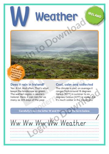 W: Weather