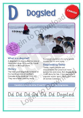 D: Dogsled