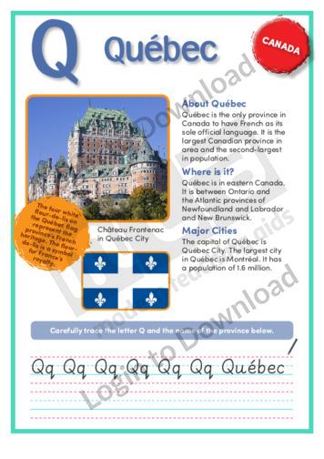Q: Quebec