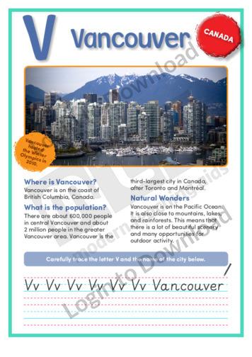 V: Vancouver