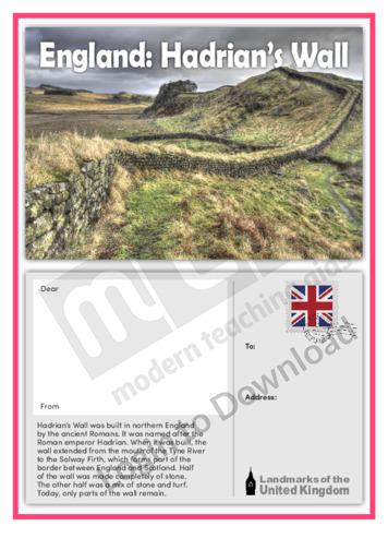 England: Hadrian's Wall