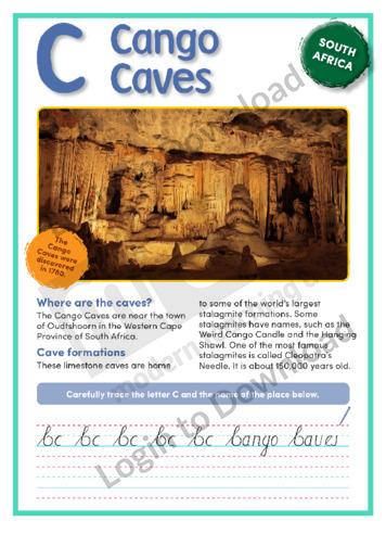 C: Cango Caves
