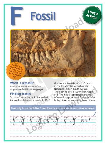 F: Fossil