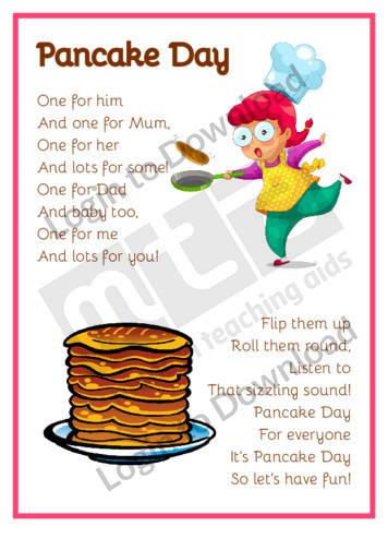 Pancake Poems: Pancake Day