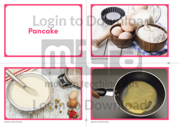 Pancake Sequence Cards
