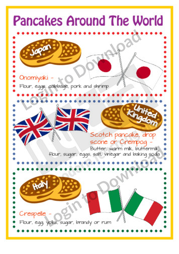 Pancakes Around the World