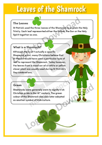 Leaves of the Shamrock